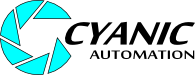 Cyanic Automation Ltd. Logo. Edmonton Custom Software and Services