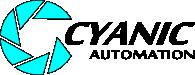 Cyanic Automation Ltd. Logo. Edmonton Custom Software and Services